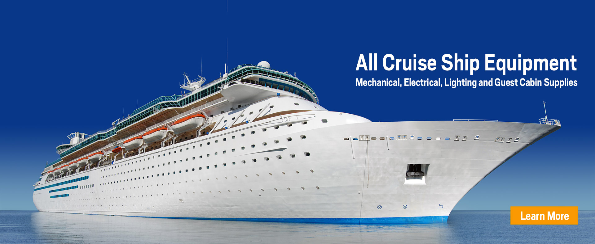 Marine Equipment And Supplies For The Cruise Industry MSP - Cruise ship supplies